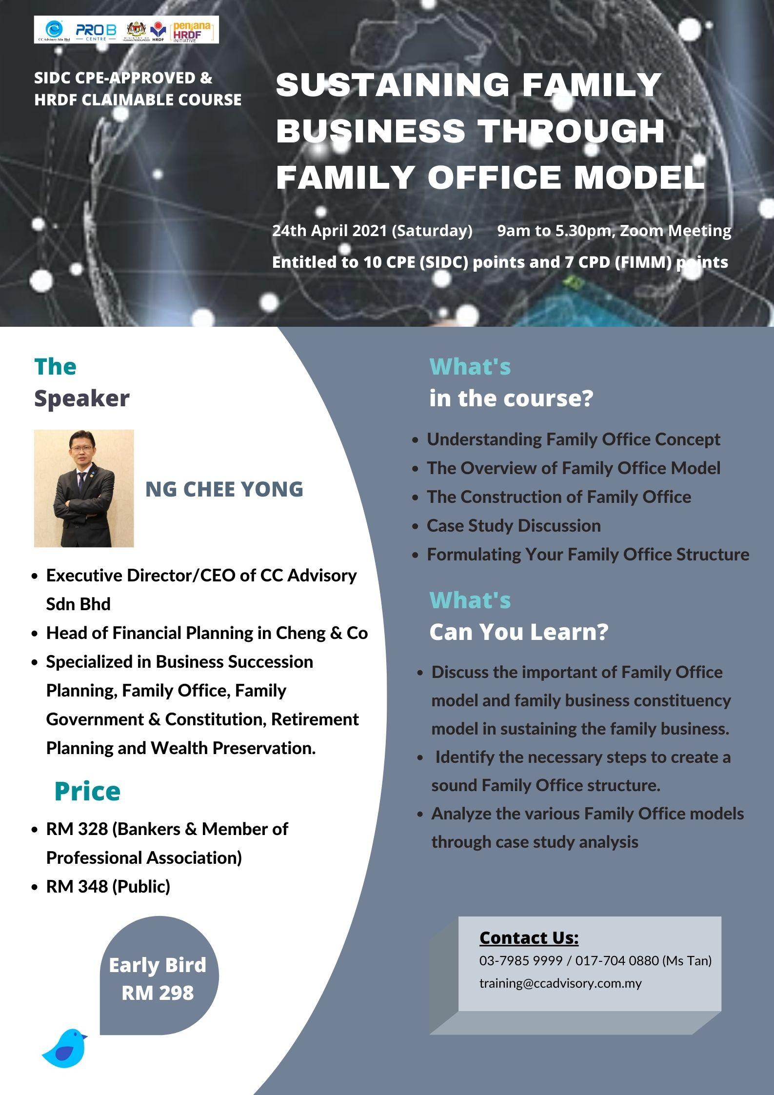 Sustaining Family Business Through Family Office Model