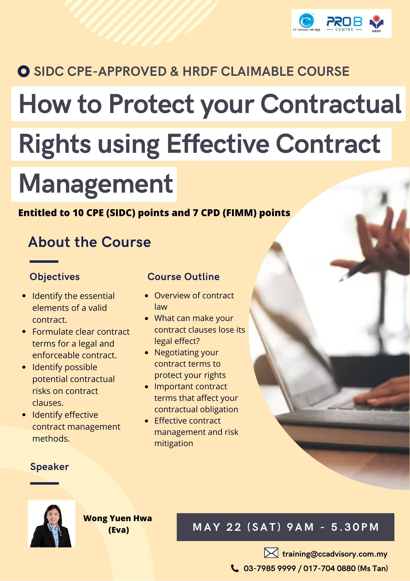 How to Protect your Contractual Rights using Effective Contract Management
