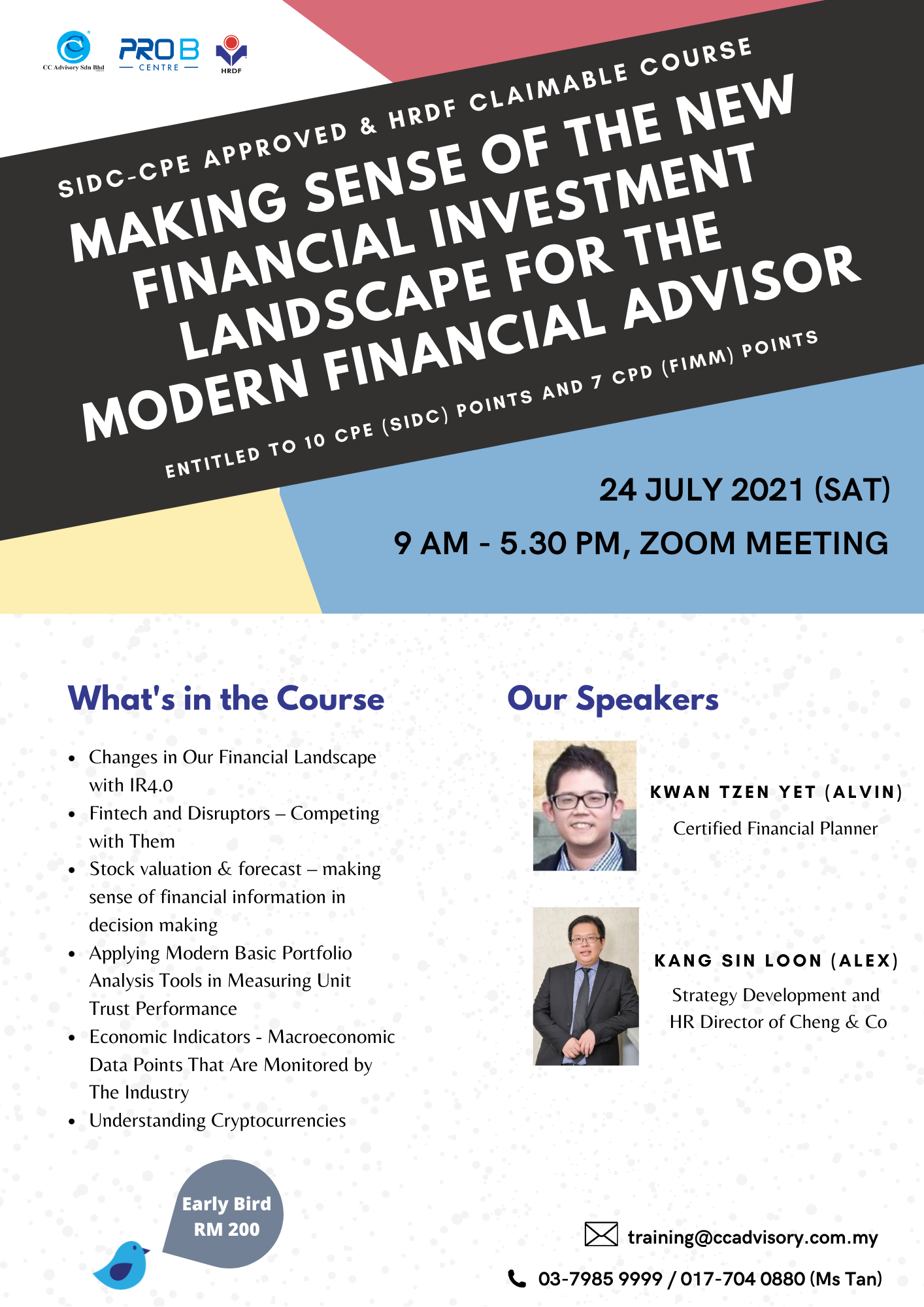 Making Sense of The New Financial Investment Landscape For The Modern Financial Advisor